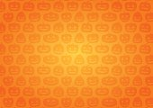 Halloween. Background of pumpkin. Orange gradation. Side.
