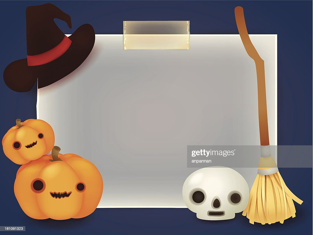 Halloween Background - Vector File EPS10