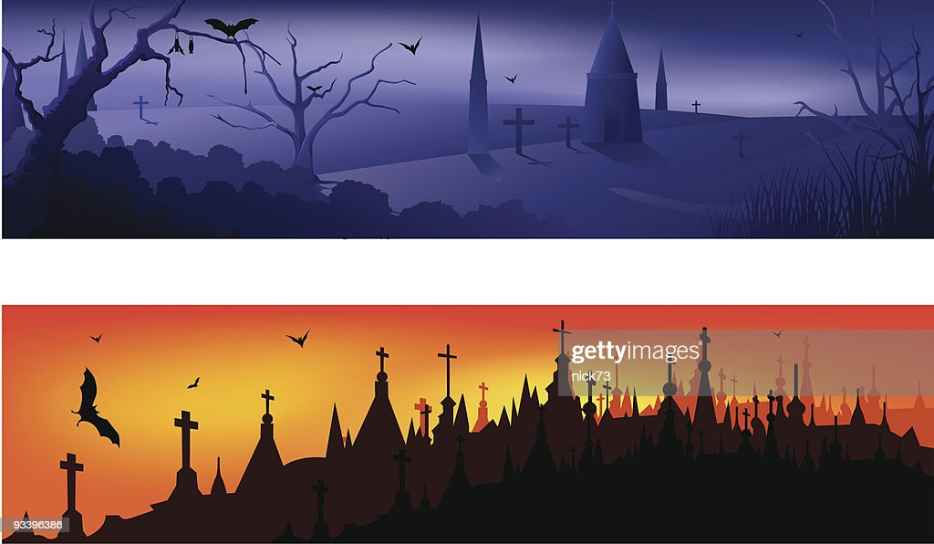 Halloween Banner Vector Art | Getty Images