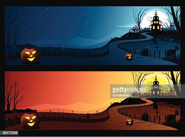 Halloween Banner/Background