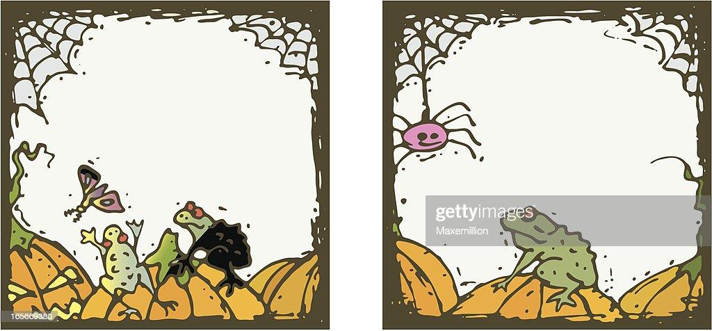 Halloween Borders Moth Dive Vector Art | Getty Images