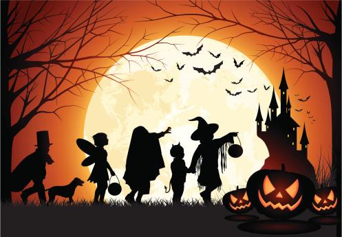 Halloween Children trick or treat - gettyimageskorea
