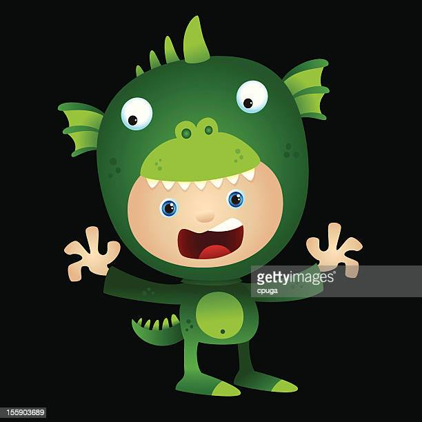 Halloween Costume Monster Kid