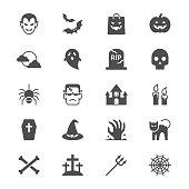 Halloween flat icons