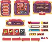Halloween Game UI Set