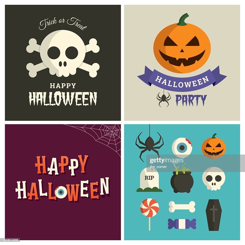 Halloween graphic design pack.