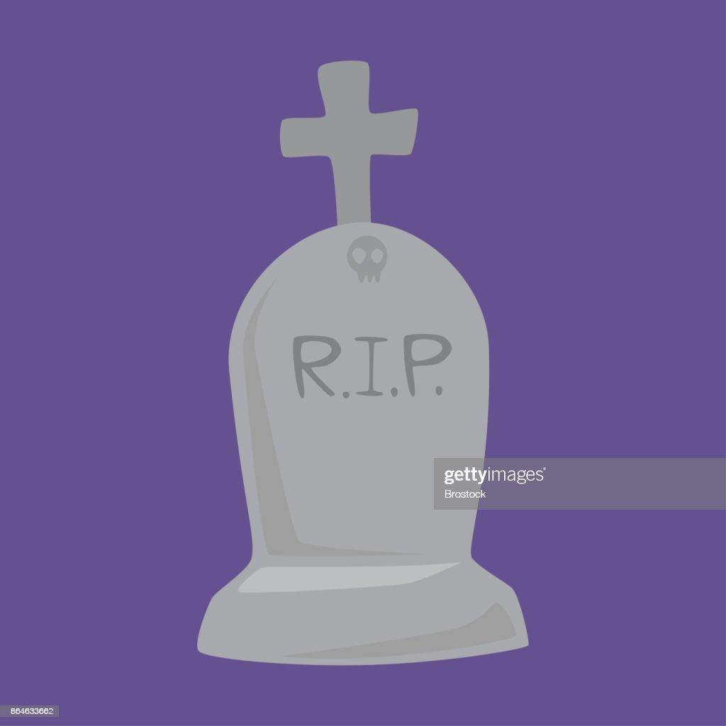 Halloween grave