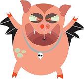 Hallowe'en Hog