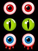Halloween horror eyes