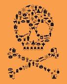 Halloween Icon Skull