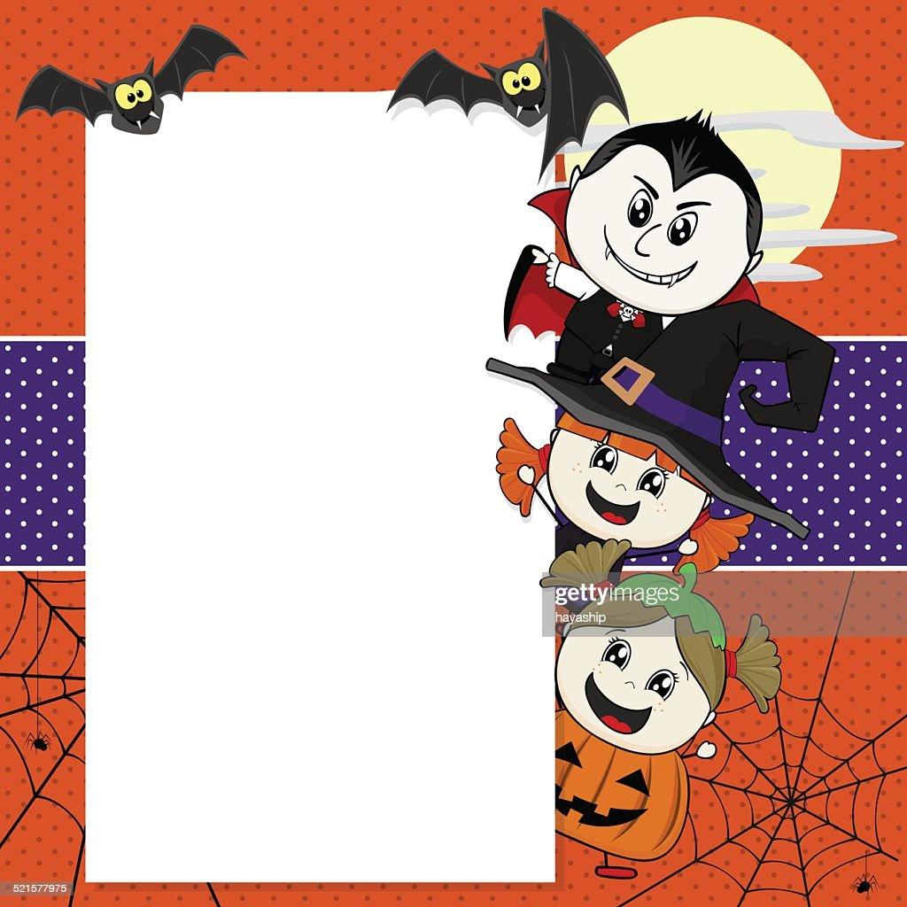Halloween invite vector art getty images halloween invite vector art stopboris Gallery