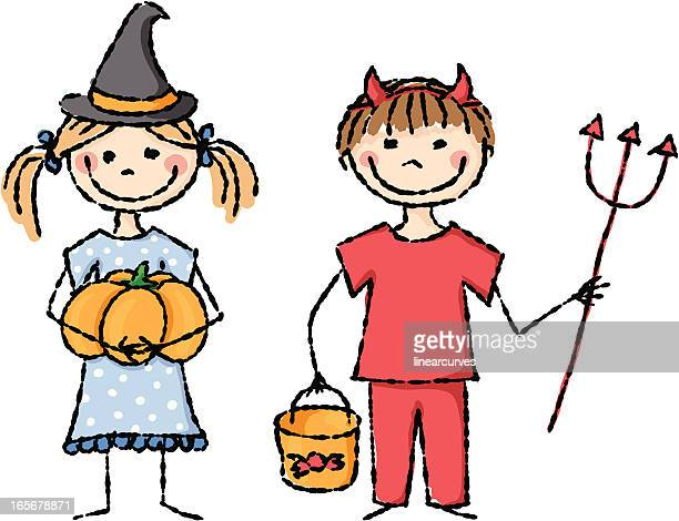Halloween los niños