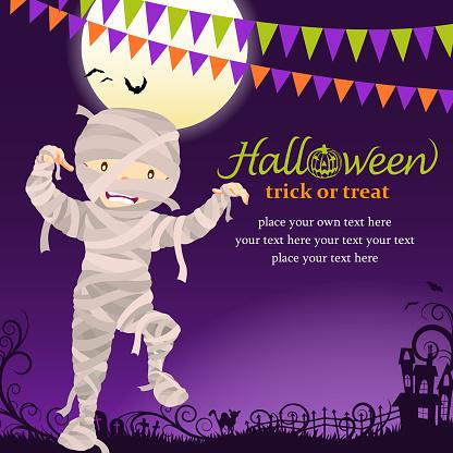 Halloween mummy party - gettyimageskorea