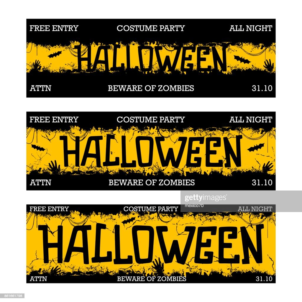 Halloween night party design