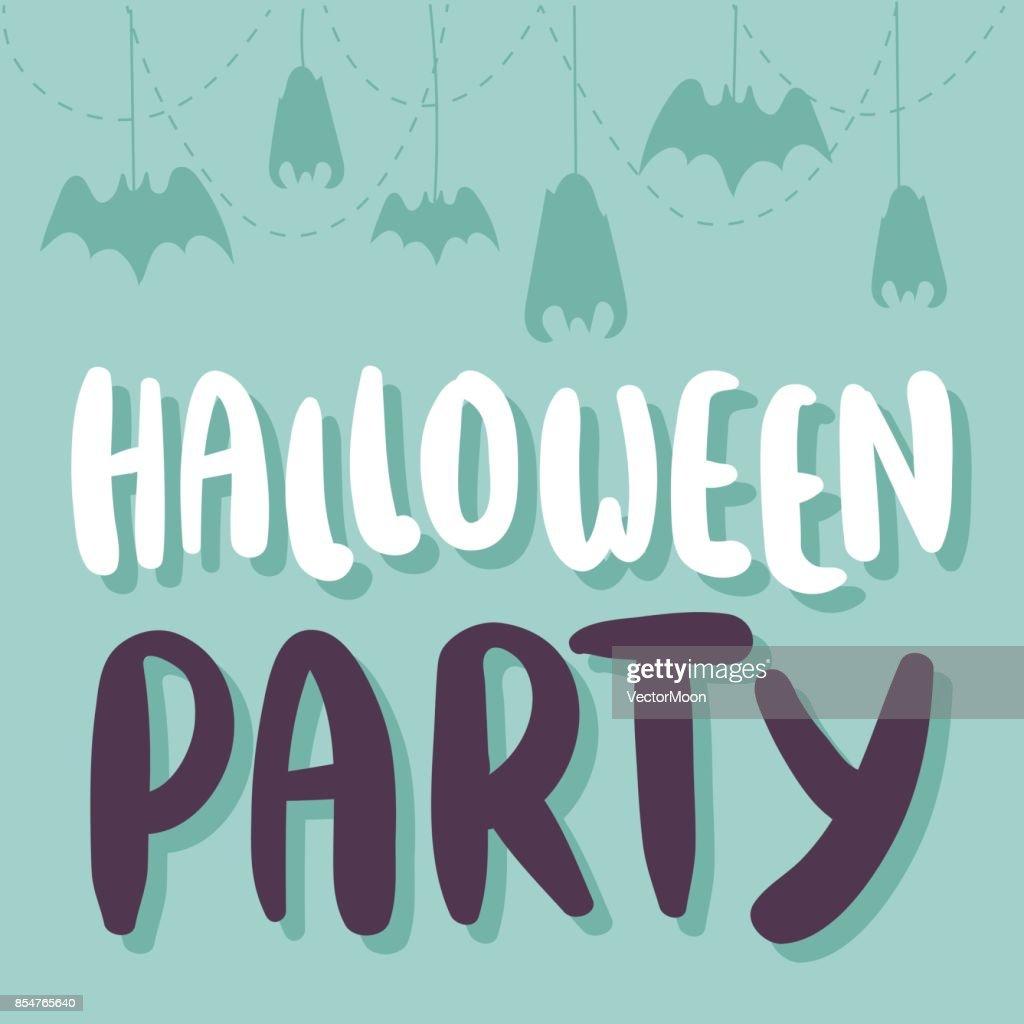 Halloween party celebration invitation cards vector illustration set halloween party celebration invitation cards vector illustration set design vector art stopboris Images