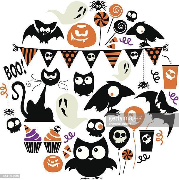 Halloween Party Icon Set