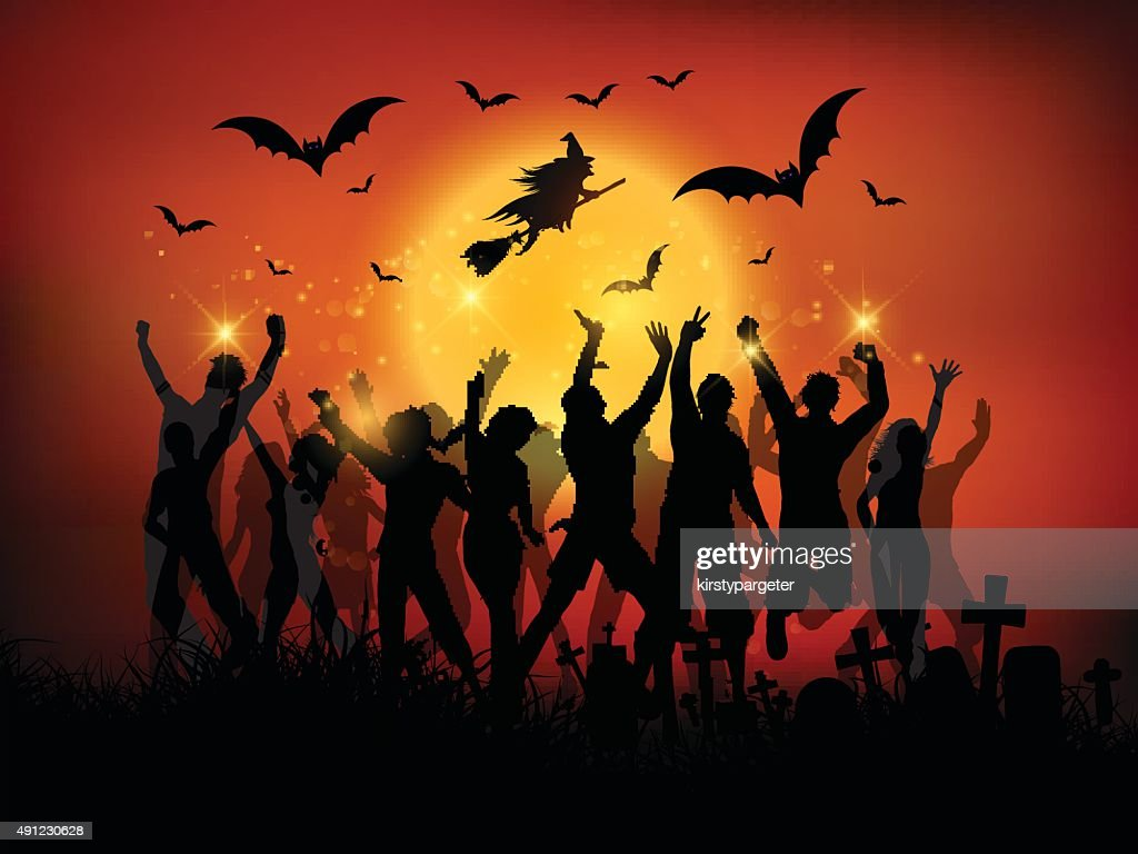 halloween party landscape