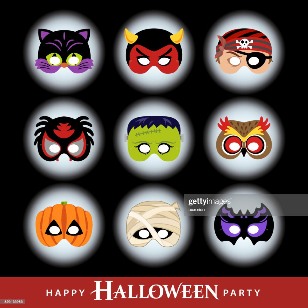 Halloween Party Masks