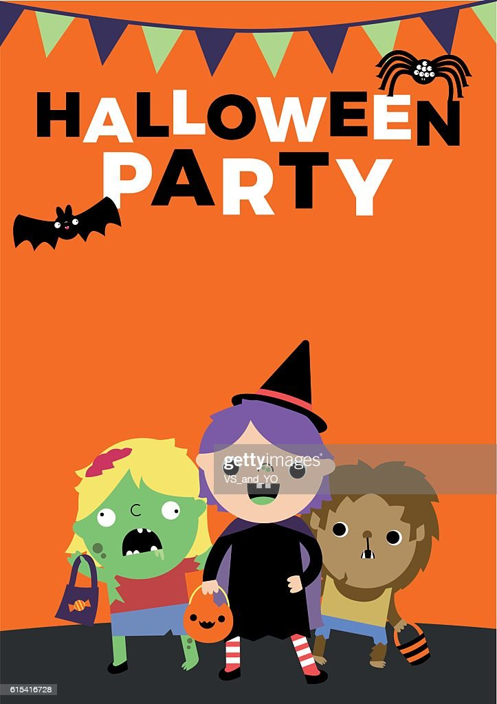Halloween Party Poster Invite