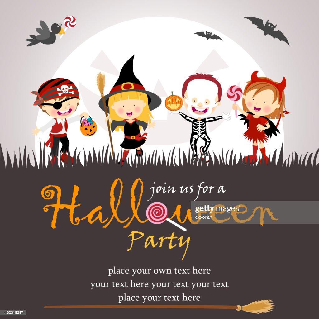 Halloween Party : stock illustration