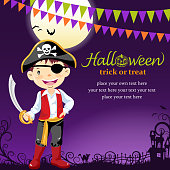 Halloween pirate party
