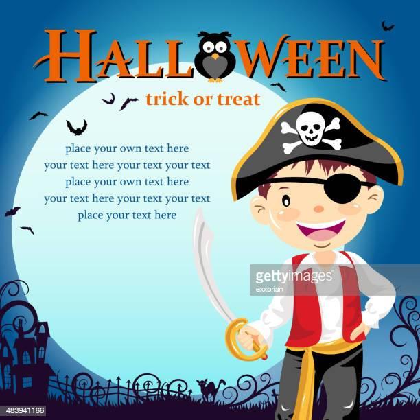 Halloween pirate trick or treat