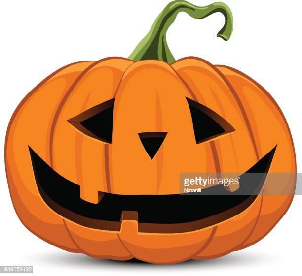 halloween pumpkin - jack o lantern stock illustrations, clip art, cartoons, & icons