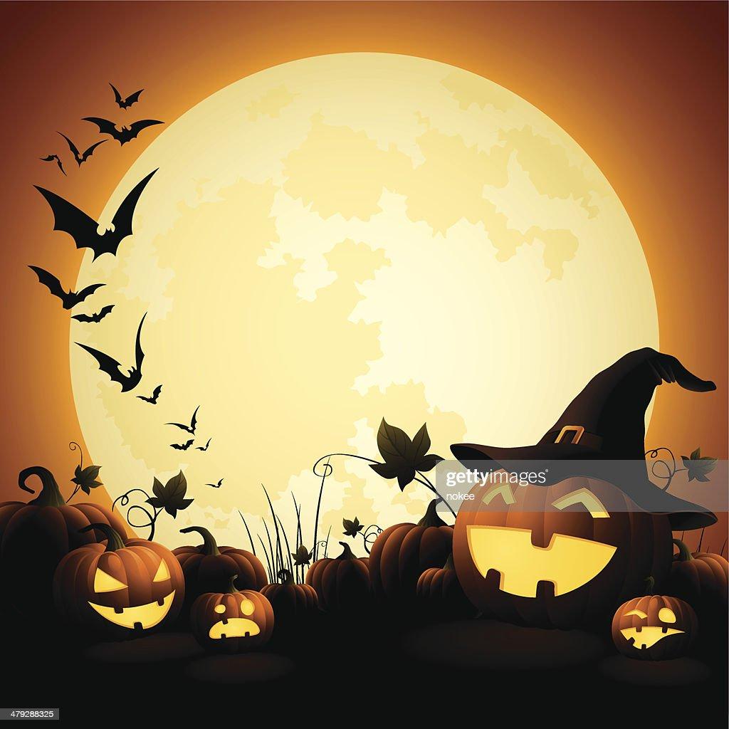 Halloween Pumpkins - Witch's Hat