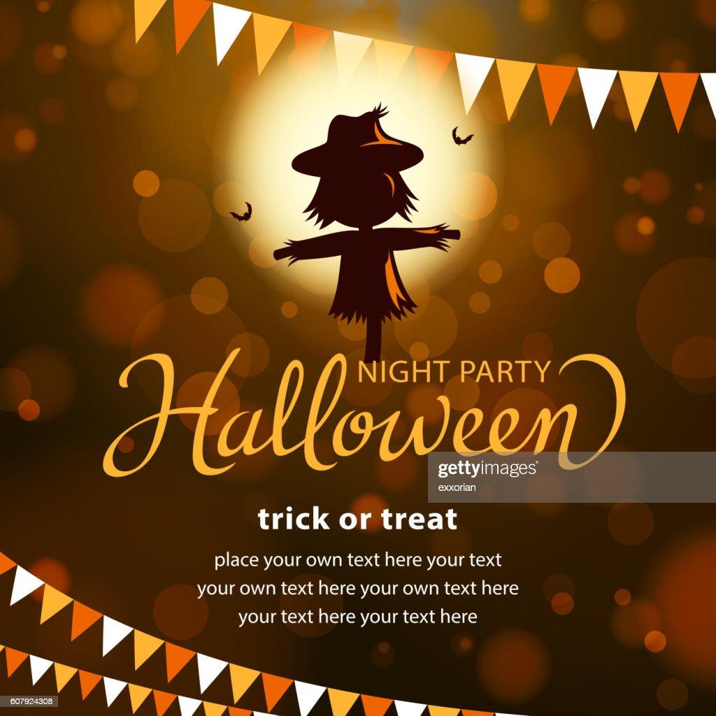Halloween Scarecrow Party