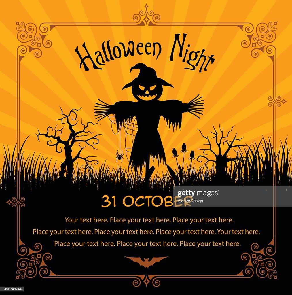 Halloween Scarecrow