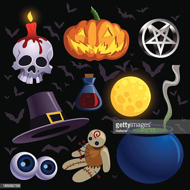Halloween Spooky Elements