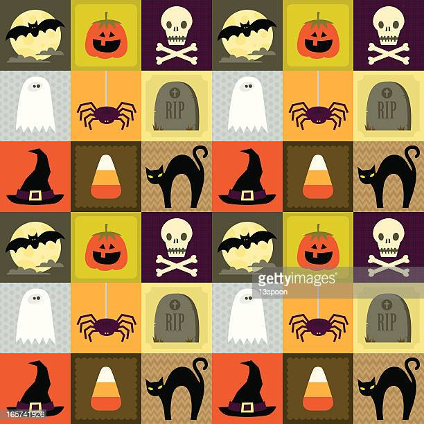 Halloween Square Pattern