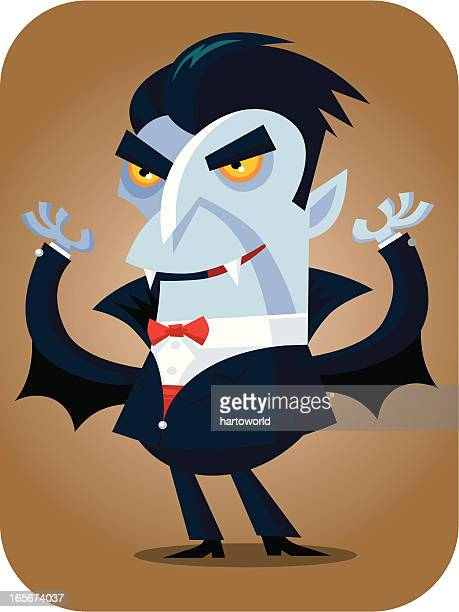 halloween vampire - count dracula stock illustrations, clip art, cartoons, & icons