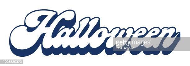 60 Top Halloween Font Stock Illustrations, Clip art, Cartoons