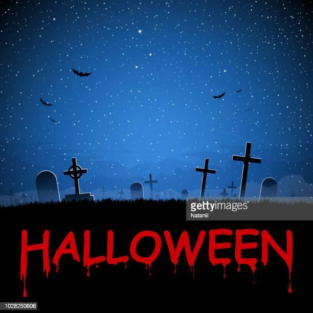 halloween - grave stock illustrations, clip art, cartoons, & icons