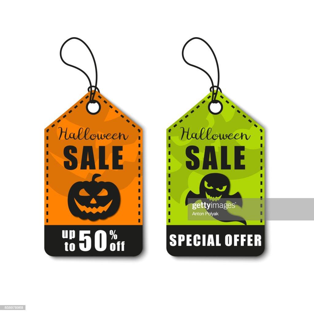 Halloweenvektorillustration Halloweensale Rabatt Und Angebottag ... f40f1b5732