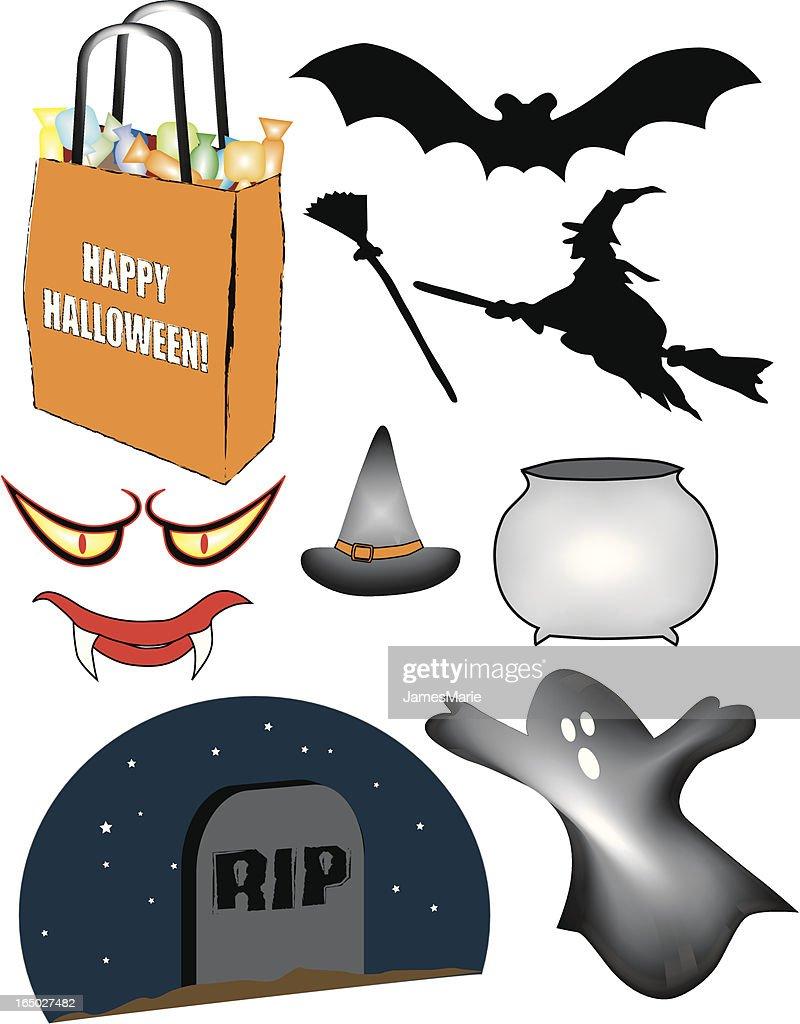 halloween vectors vector art getty images rh gettyimages com halloween vector art free halloween vector clipart