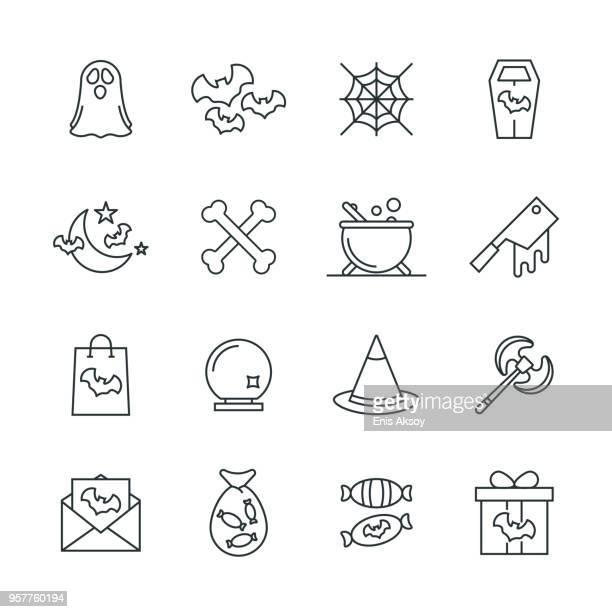 Hallowen Icon Set