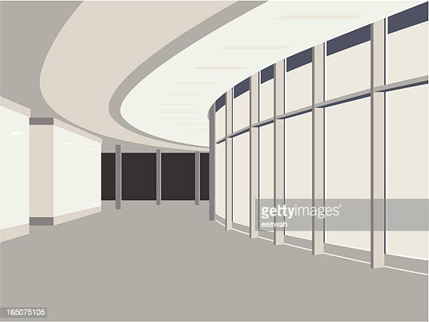 hallway - corridor stock illustrations, clip art, cartoons, & icons