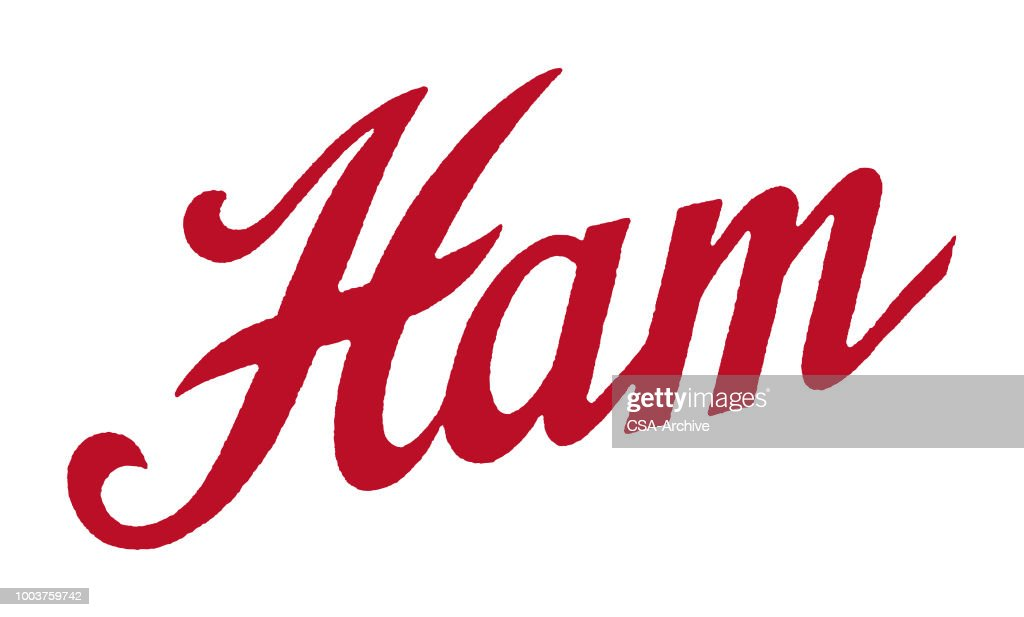 Ham : stock illustration