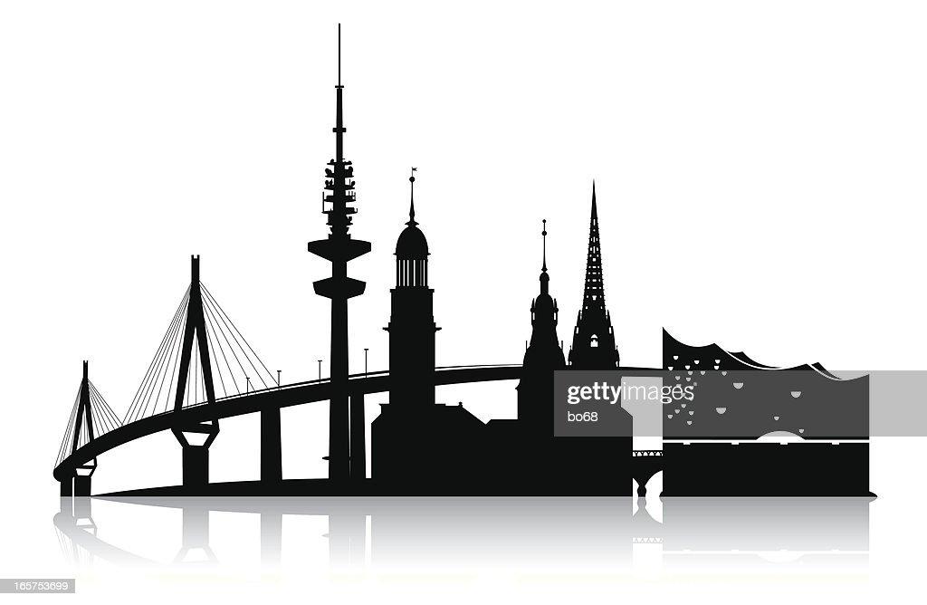 hamburg - skyline 2011
