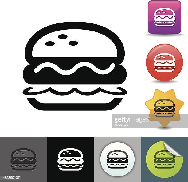 Ilustraciones De Stock Y Dibujos De Hamburguesa De Carne