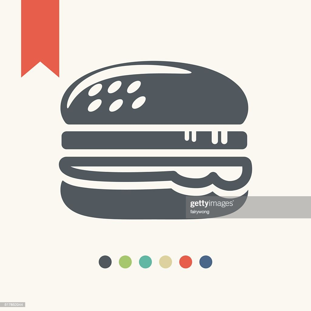 Hamburger icon : stock illustration