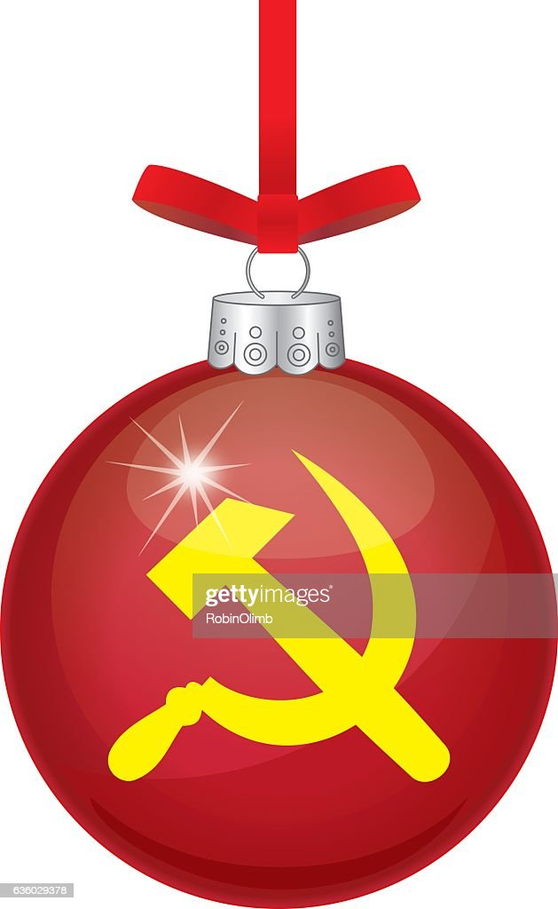 Hammer And Cycle Christmas Ornament : Vector Art - Hammer And Cycle Christmas Ornament Vector Art Getty Images