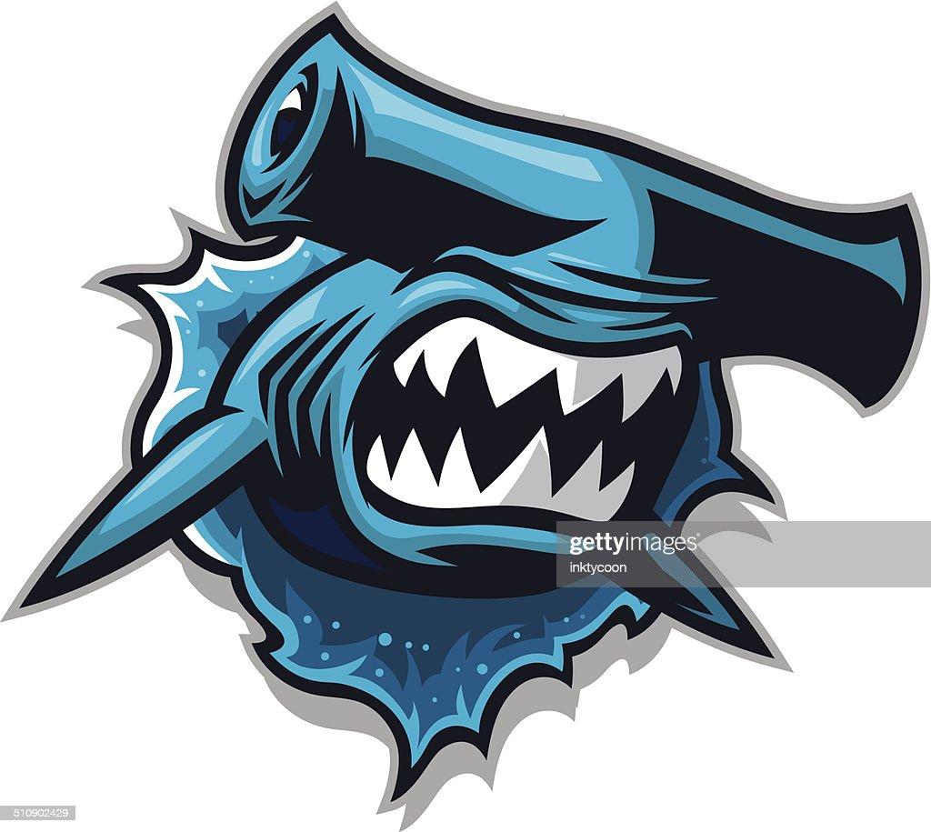 49 Hammerhead Shark Stock Illustrations, Clip art, Cartoons