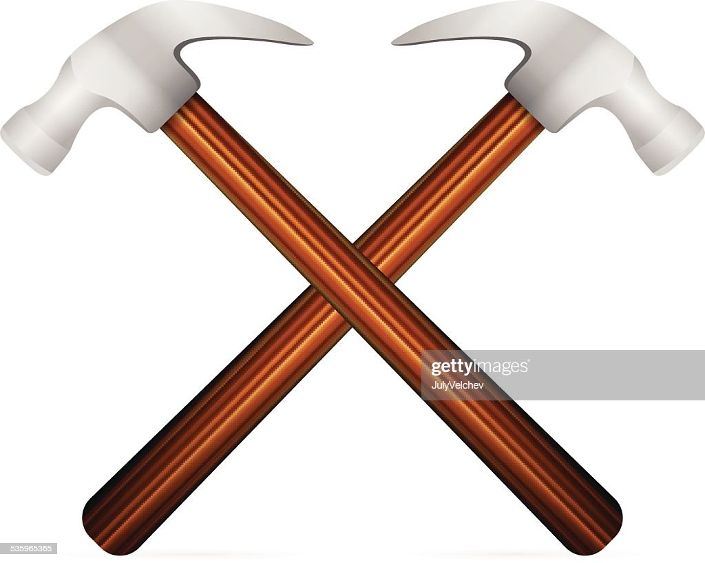 hammer icon : Vector Art