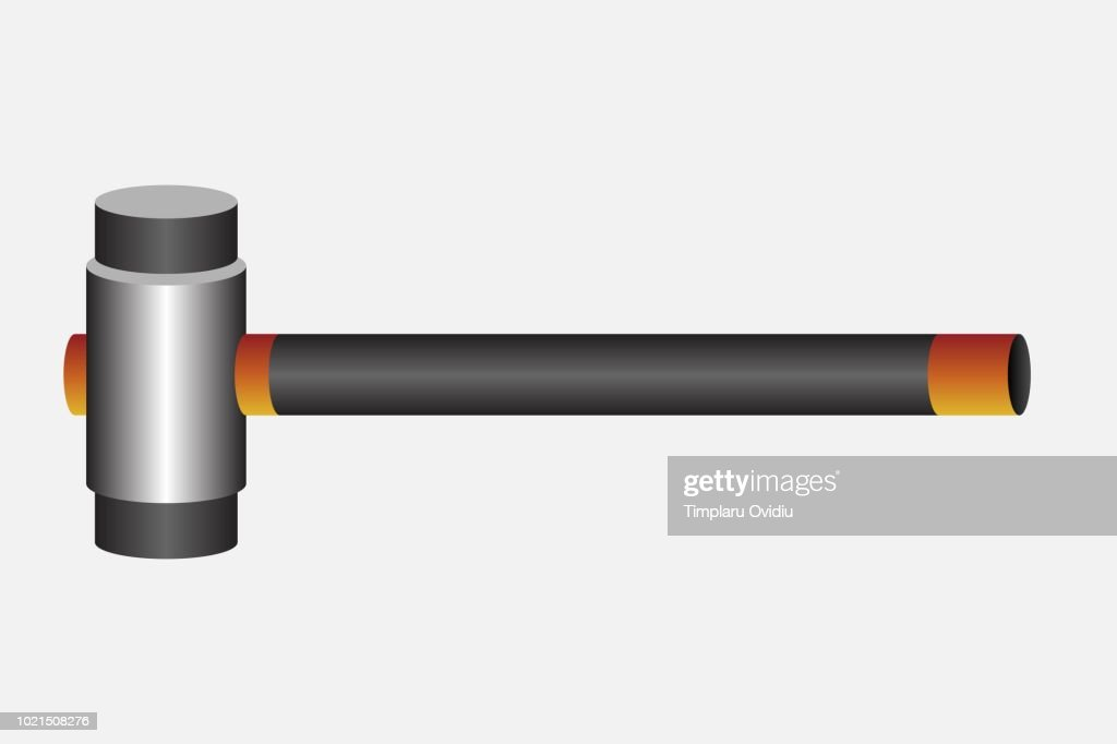 Hammer vector illustration