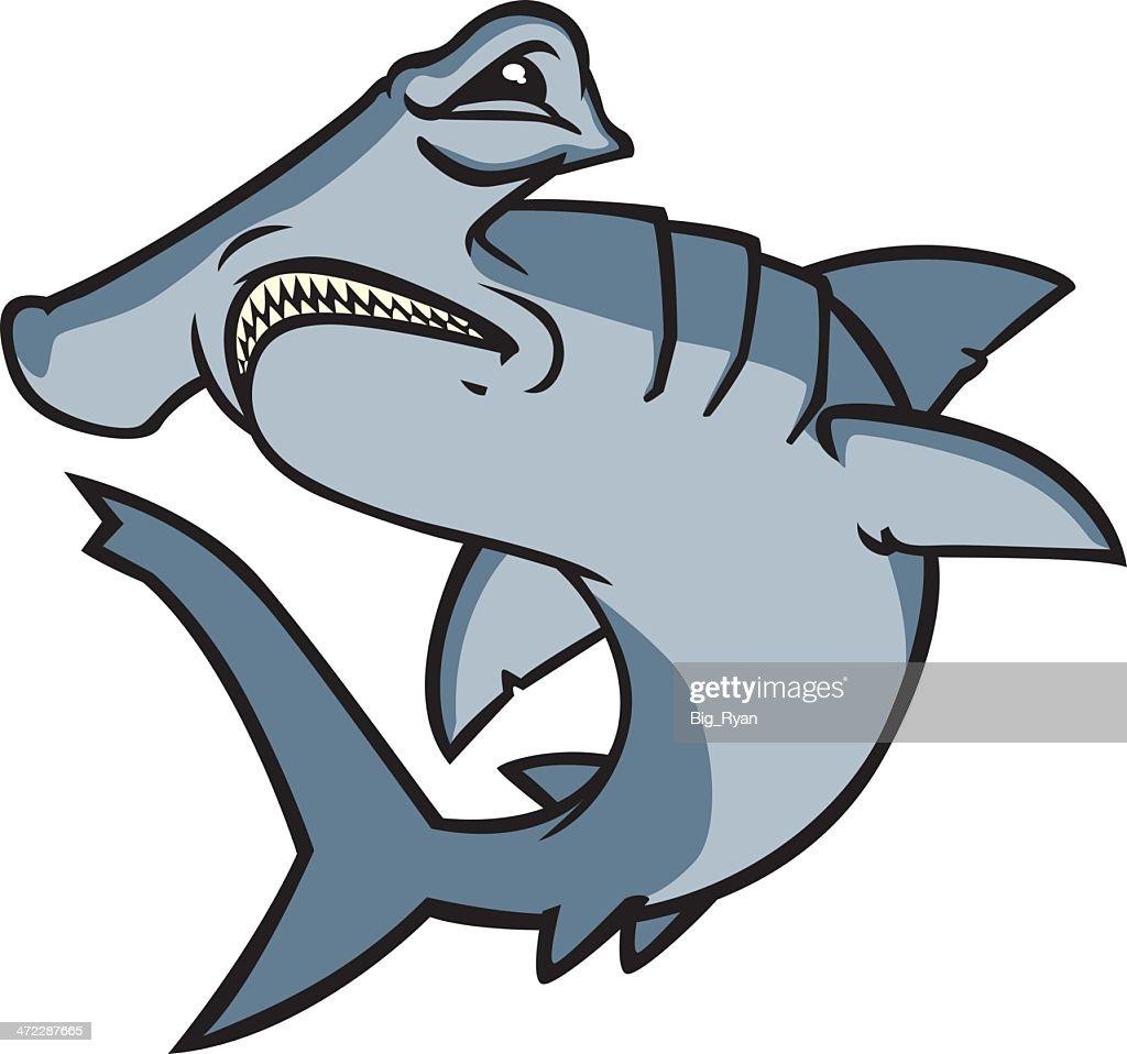 free hammerhead shark clipart and vector graphics clipart me rh clipart me Hammerhead Shark Outline Clip Art great hammerhead shark clipart