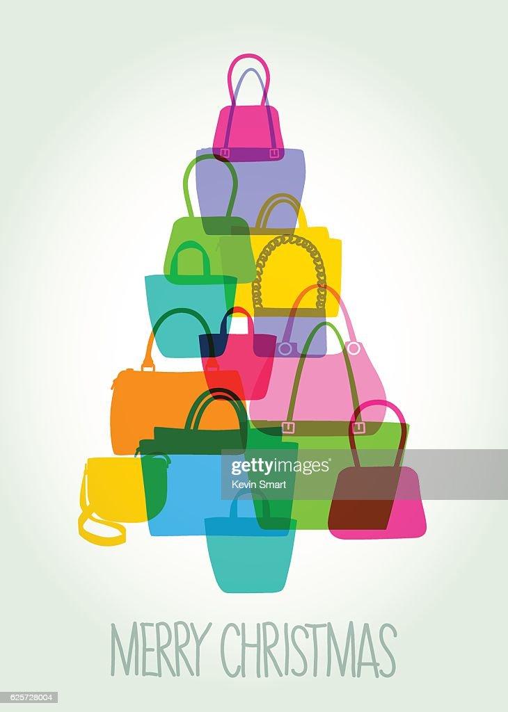 Hand Bag Christmas Tree