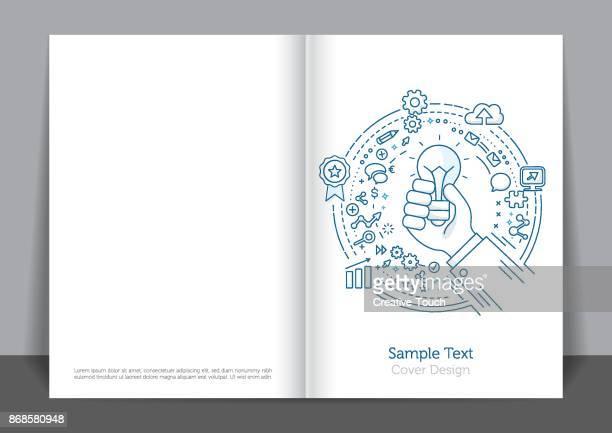 Hand Concept Cover design